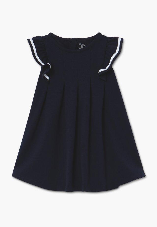 NAUTICAL DRESSES - Jerseyklänning - hunter navy