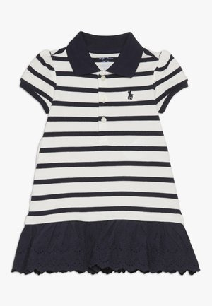 Freizeitkleid - clubhouse cream/hunter navy