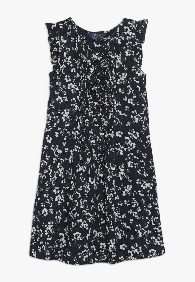 FLORAL PINTU DRESSES - Day dress - dark blue