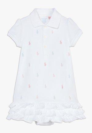 SCHIFFLI DRESSES - Robe en jersey - white