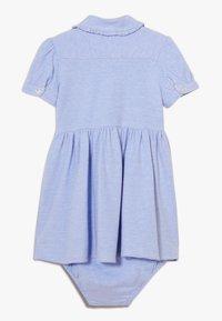 Polo Ralph Lauren - SOLID DRESSES - Denní šaty - harbor island blue - 1