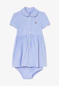 Polo Ralph Lauren - SOLID DRESSES - Denní šaty - harbor island blue - 4