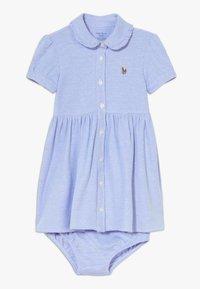 Polo Ralph Lauren - SOLID DRESSES - Denní šaty - harbor island blue - 0