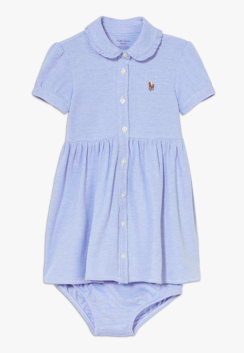 Polo Ralph Lauren - SOLID DRESSES - Denní šaty - harbor island blue