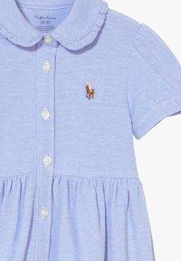 Polo Ralph Lauren - SOLID DRESSES - Denní šaty - harbor island blue - 5