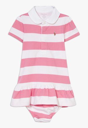 RUGBY STRIPE DRESSES  - Jerseykleid - pink multi