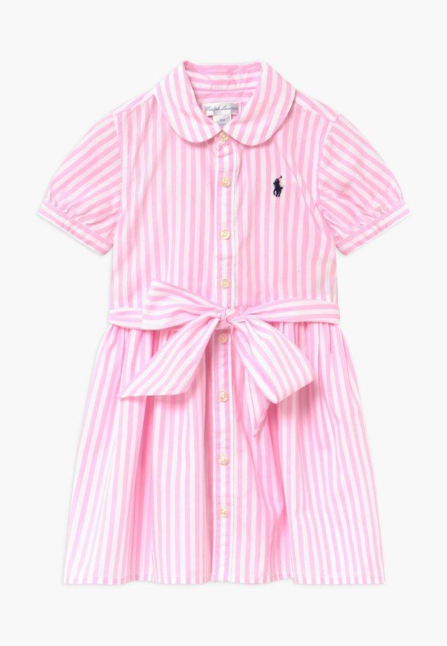 BENGAL DRESS - Vardagsklänning - carmel pink/ white