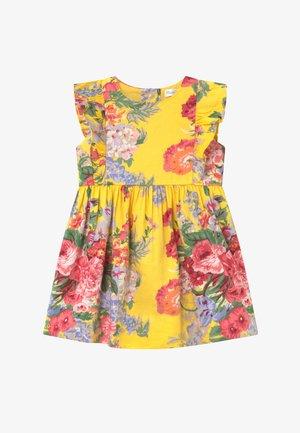 FLORAL - Košilové šaty - yellow
