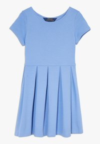 Polo Ralph Lauren - SOLID DRESSES - Žerzejové šaty - harbor island blue - 0
