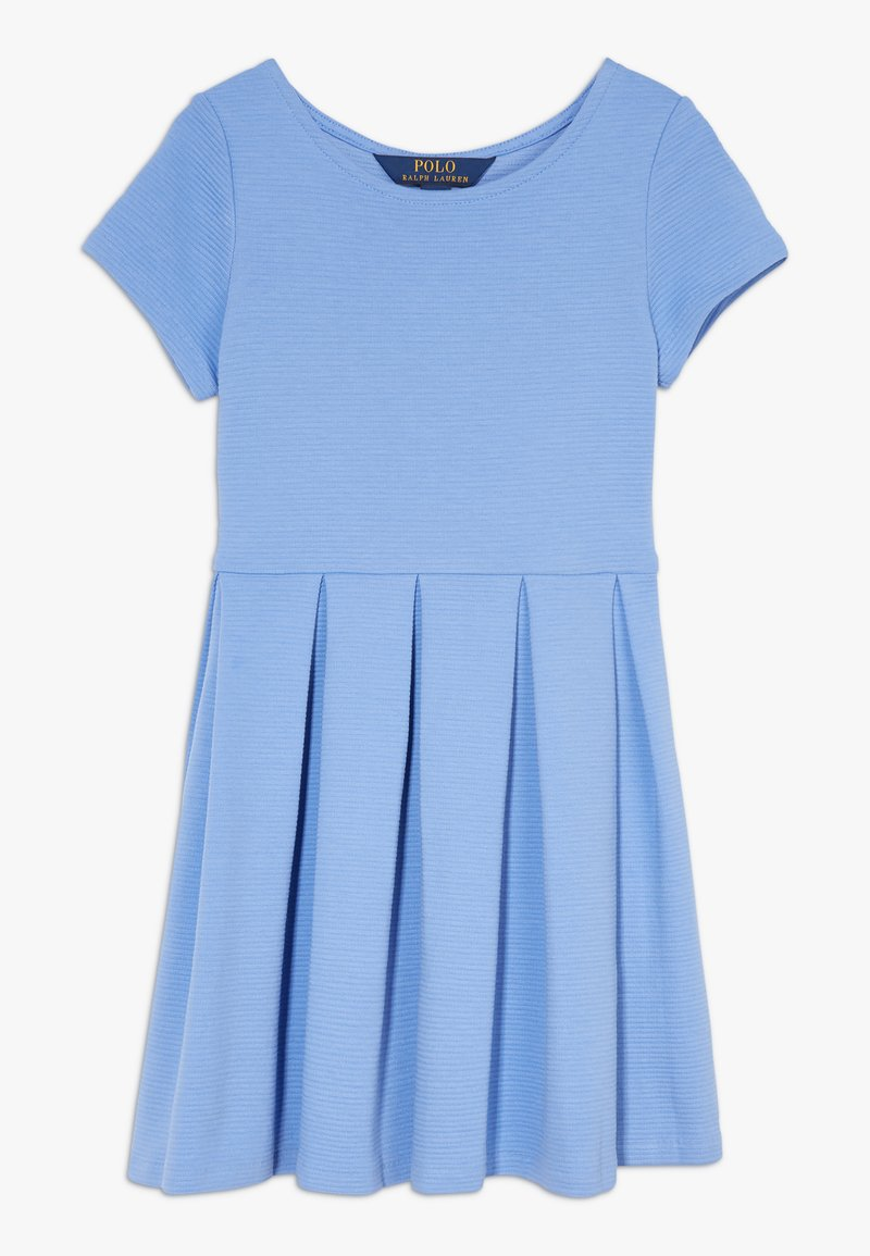 Polo Ralph Lauren - SOLID DRESSES - Žerzejové šaty - harbor island blue