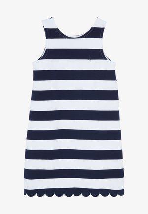 PONTE - Jerseykjoler - french navy/white