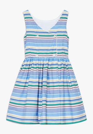 BUTTON  DRESSES - Vestido informal - blue