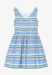 Polo Ralph Lauren - BUTTON  DRESSES - Denní šaty - blue - 3