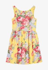 Polo Ralph Lauren - FIT DRESSES - Robe d'été - yellow multi - 3