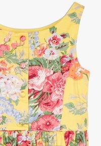 Polo Ralph Lauren - FIT DRESSES - Robe d'été - yellow multi - 4