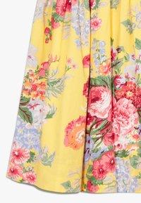 Polo Ralph Lauren - FIT DRESSES - Robe d'été - yellow multi - 2