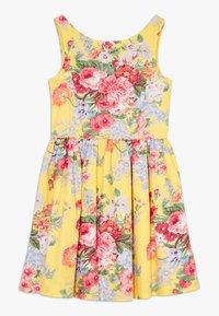 Polo Ralph Lauren - FIT DRESSES - Robe d'été - yellow multi - 0
