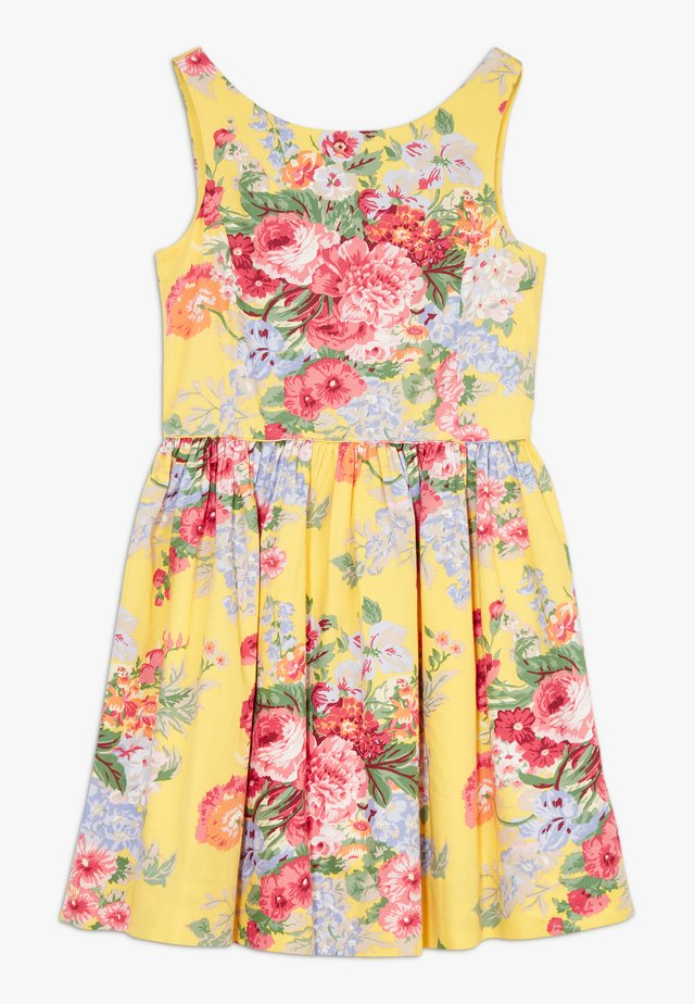 FIT DRESSES - Robe d'été - yellow multi