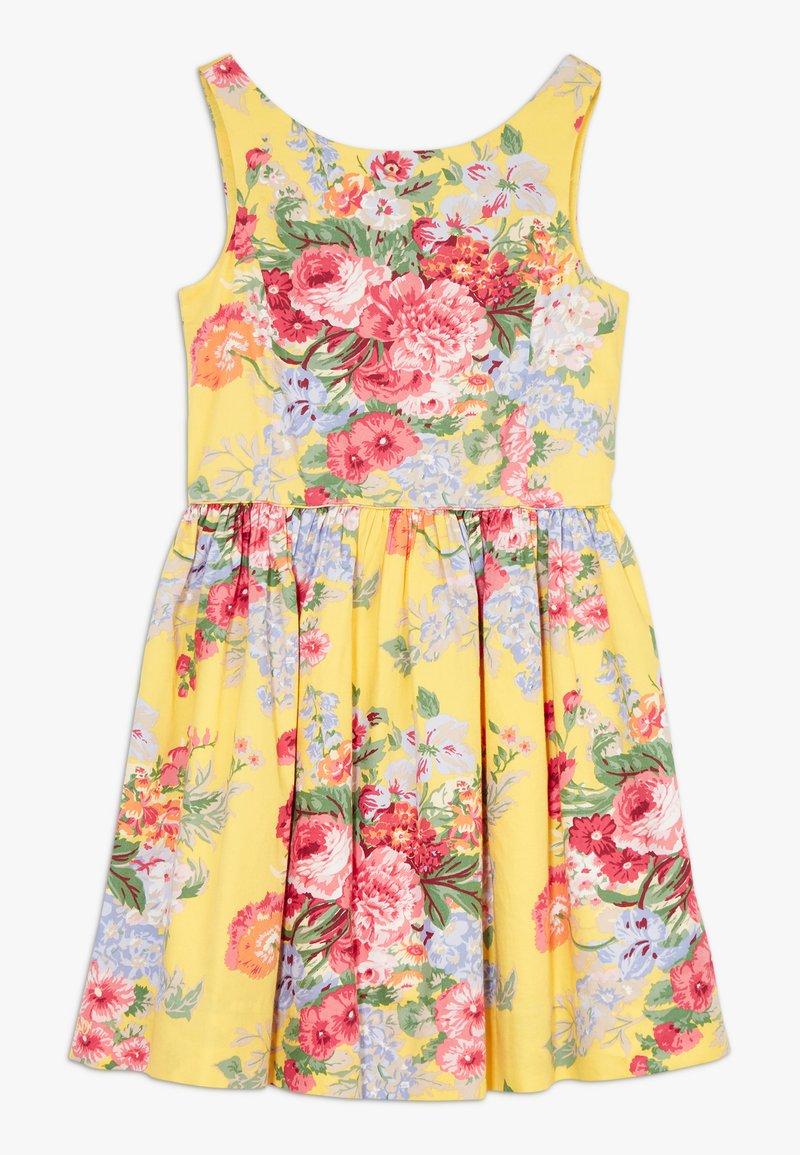 Polo Ralph Lauren - FIT DRESSES - Robe d'été - yellow multi