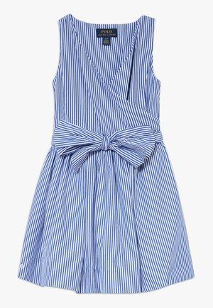 WRAP DRESS - Vestito estivo - blue