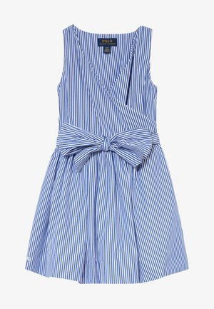 WRAP DRESS - Sukienka letnia - blue