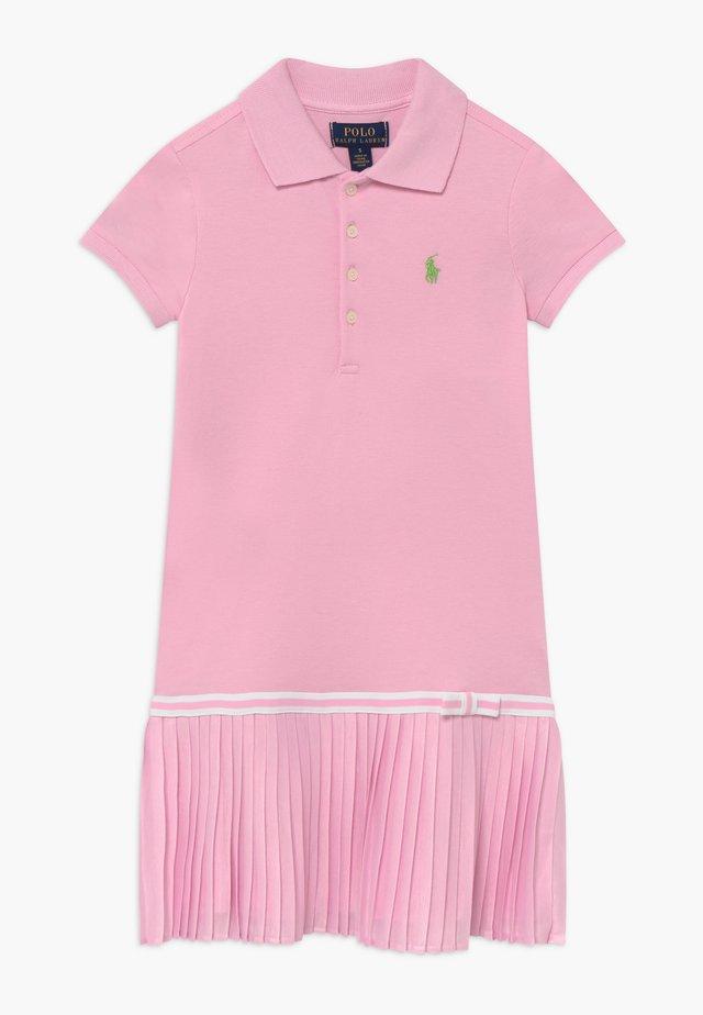 POLO DRESS - Day dress - carmel pink