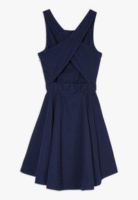 Polo Ralph Lauren - SOLID CROSS DRESSES - Robe d'été - french navy - 1