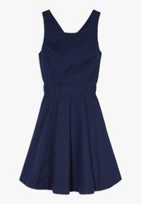 Polo Ralph Lauren - SOLID CROSS DRESSES - Robe d'été - french navy - 0
