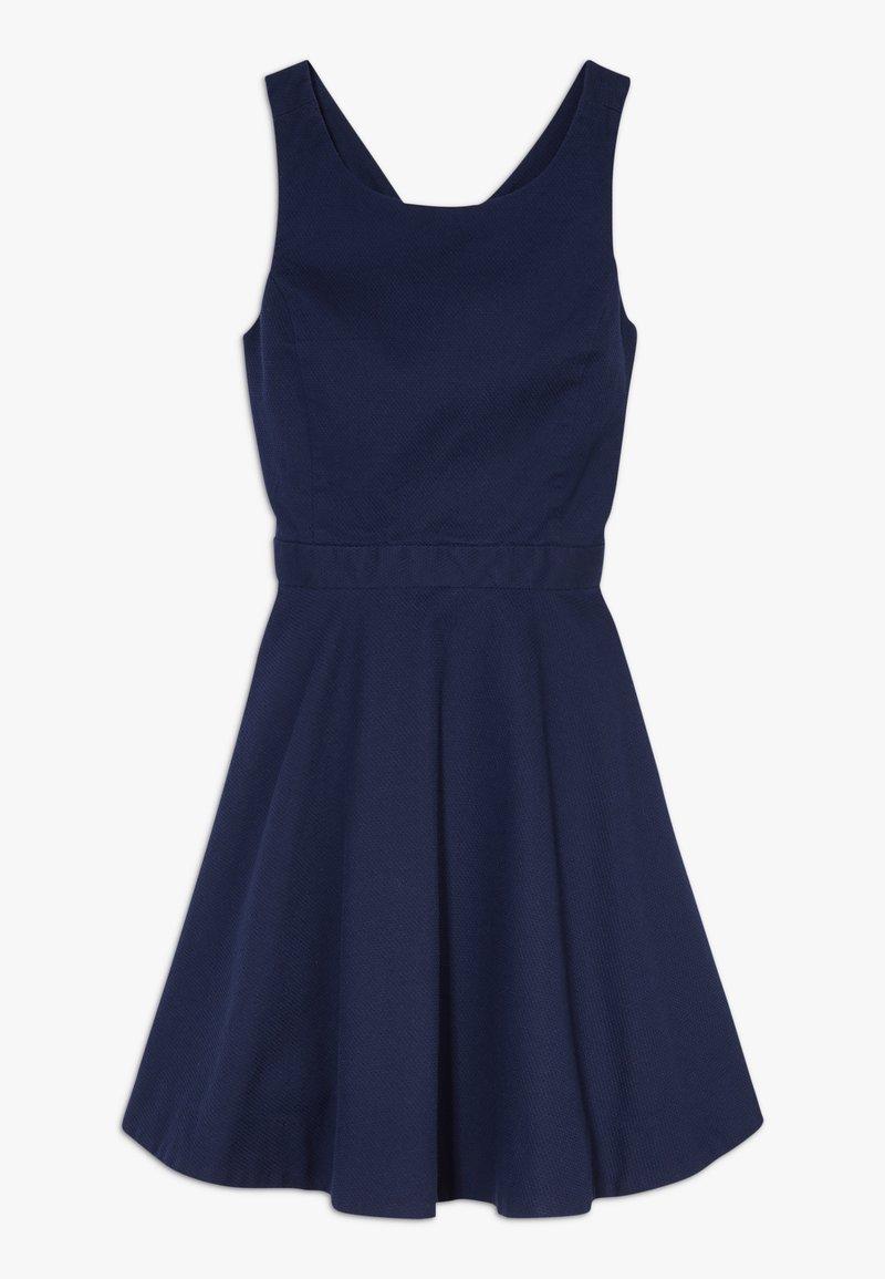 Polo Ralph Lauren - SOLID CROSS DRESSES - Robe d'été - french navy