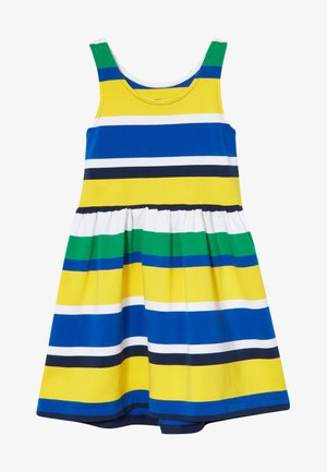 STRIPE DRESS - Vestito estivo - lemon rind multi