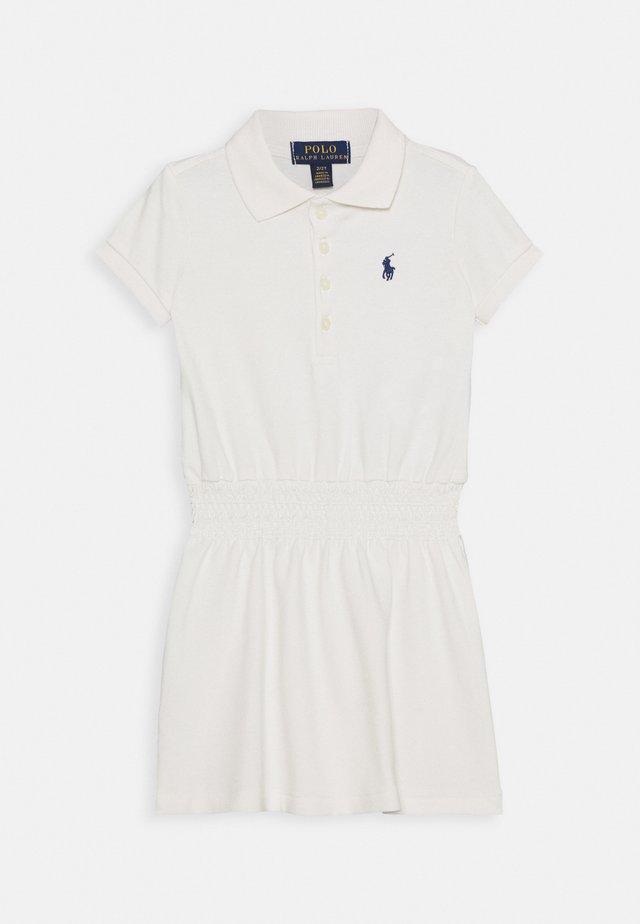 SMOCK DRESS - Freizeitkleid - deckwash white
