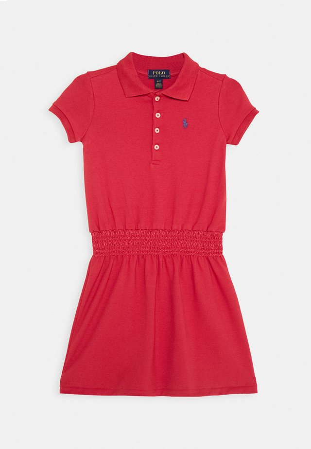 SMOCK DRESS - Freizeitkleid - nantucket red