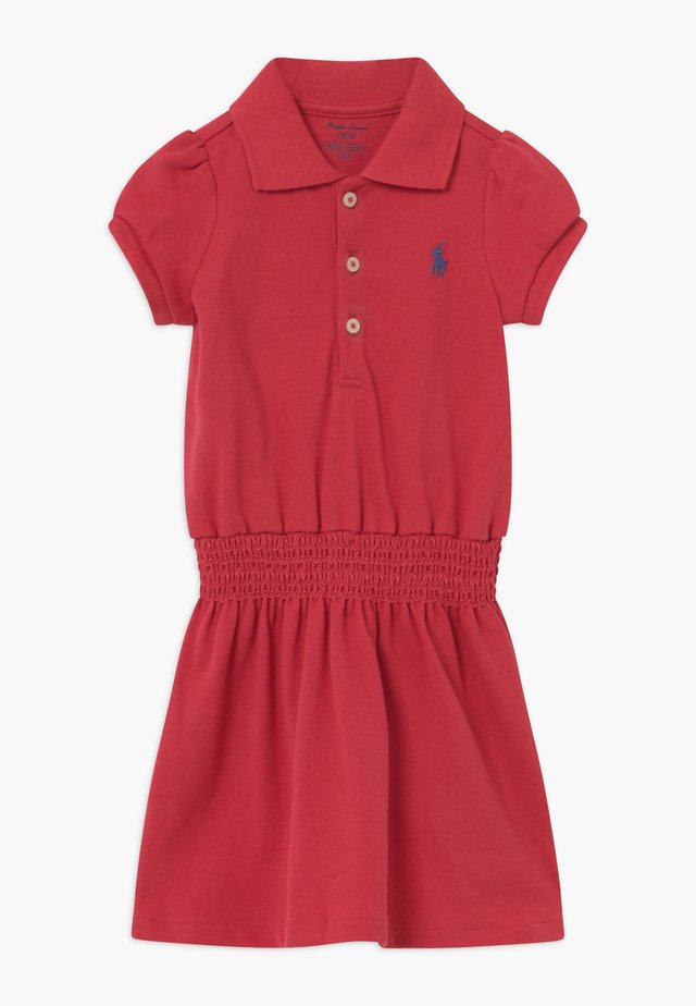 SMOCK - Day dress - nantucket red