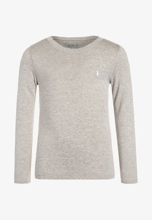 Långärmad tröja - light sport heather