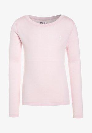 Top sdlouhým rukávem - hint of pink