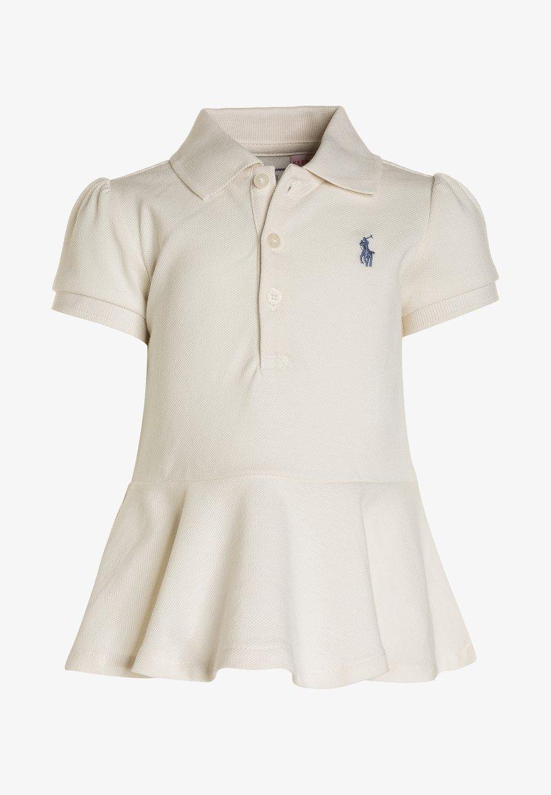 Polo Ralph Lauren - STRETCH BABY - Korte jurk - antique cream