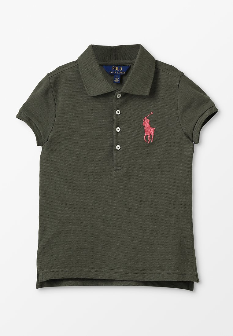 Polo Ralph Lauren - STRETCH BIG - Poloshirts - dark sage