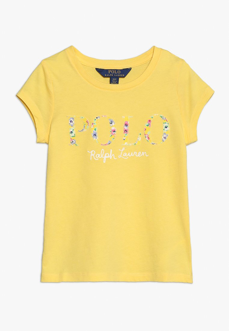 Polo Ralph Lauren - TEE - Print T-shirt - signal yellow