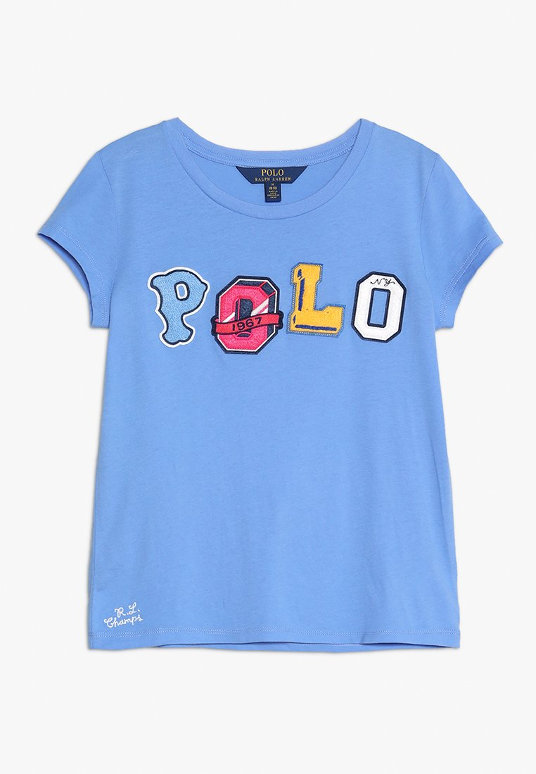 Polo Ralph Lauren - GRAPHIC TEE - T-shirt imprimé - harbor island blue