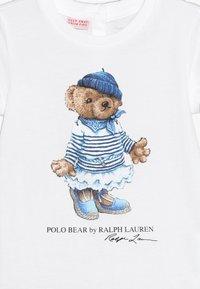 Polo Ralph Lauren - BEAR TEE - T-Shirt print - white - 3