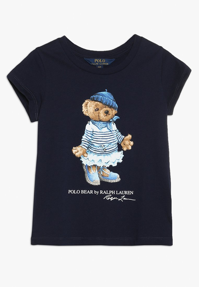 Polo Ralph Lauren - ENZYME BEAR TEE - T-shirts print - french navy