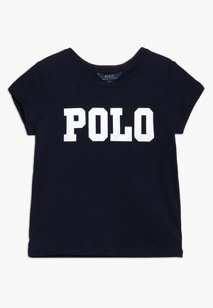 ENZYME TEE - T-shirt med print - french navy