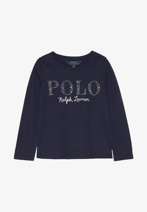 POLO TEE - Camiseta de manga larga - french navy