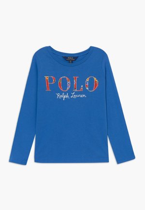 POLO TEE - Maglietta a manica lunga - colby blue