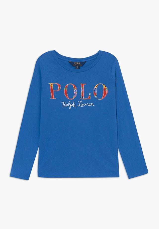 POLO TEE - Långärmad tröja - colby blue