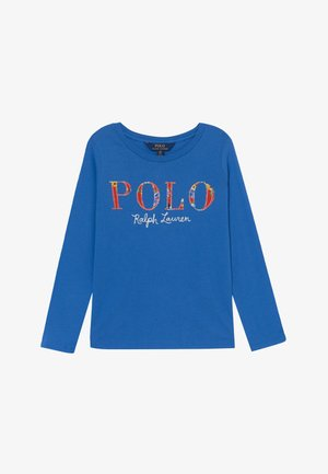 POLO TEE - T-shirt à manches longues - colby blue