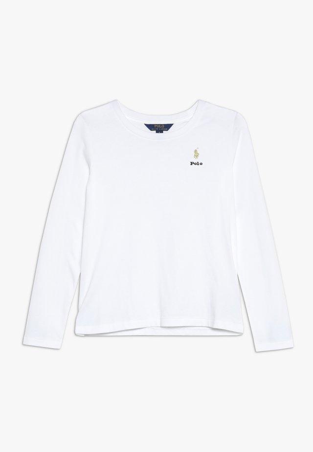 TEE - Maglietta a manica lunga - white