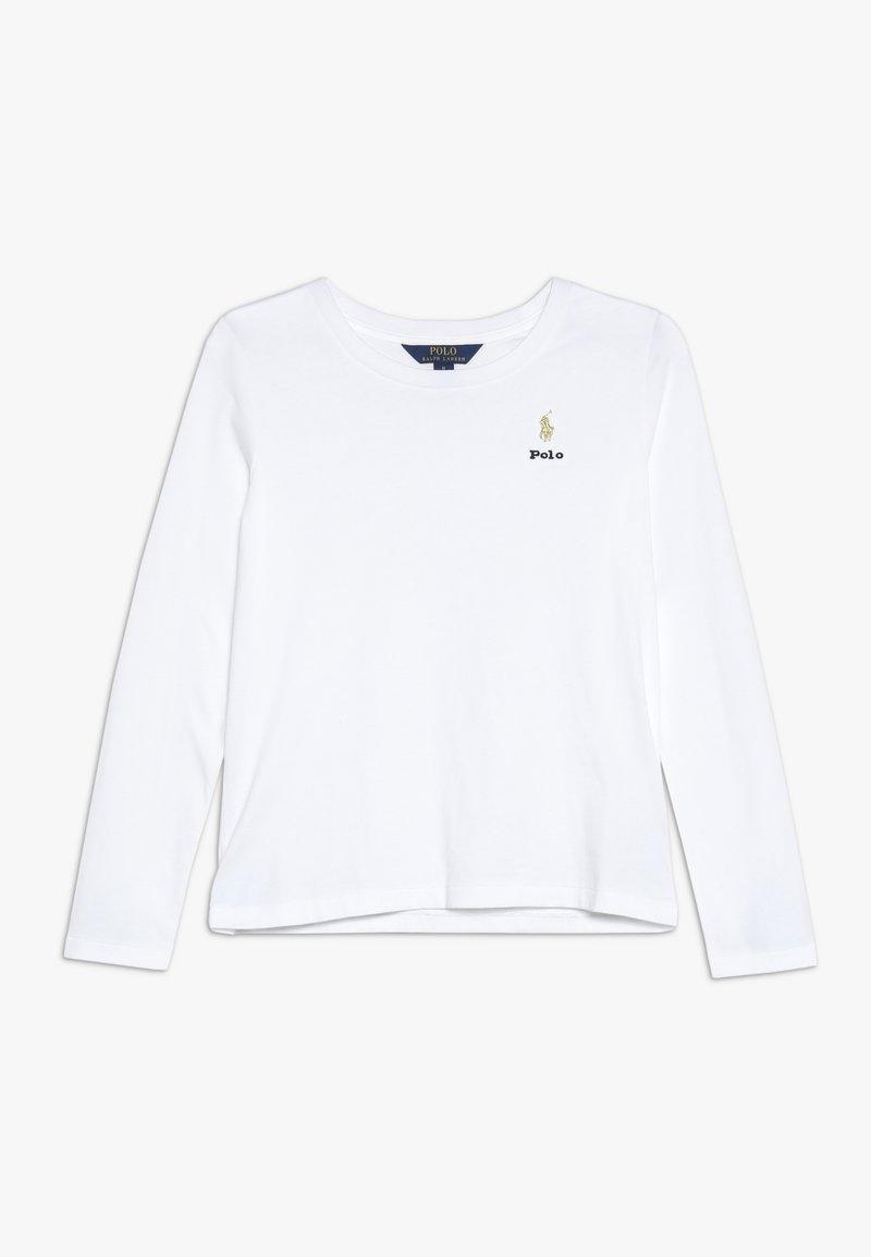 Polo Ralph Lauren - TEE - Långärmad tröja - white