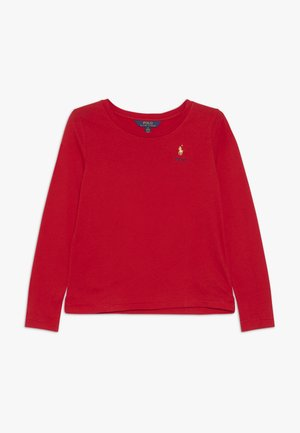 TEE - Topper langermet - red