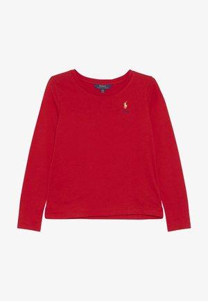 TEE - Bluzka z długim rękawem - red